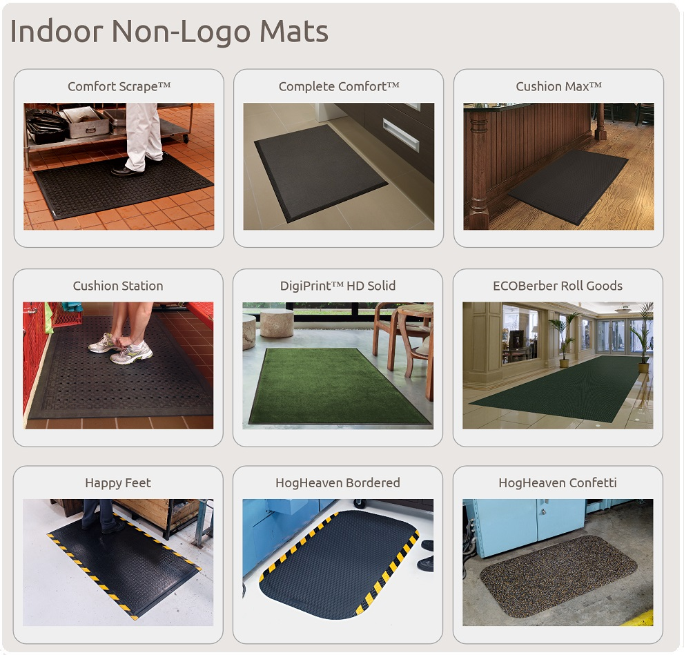 Stock Outdoor Floor Mats-to-Go